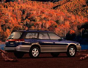 Foto Trasera Subaru Outback Suv Todocamino 1995