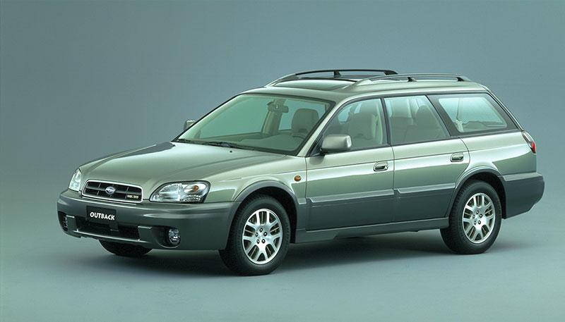 Foto Delantera Subaru Outback Suv Todocamino 1999