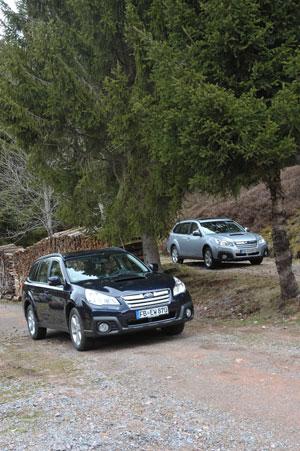 Foto Exteriores (1) Subaru Outback Suv Todocamino 2013
