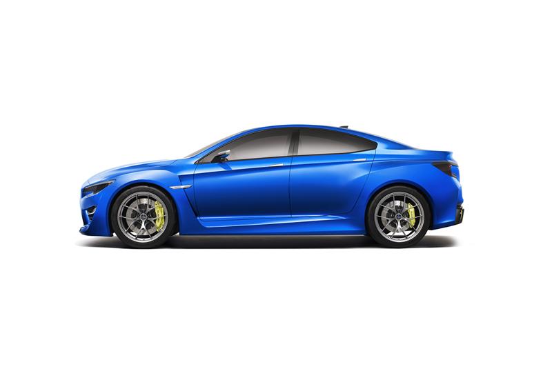 Foto Lateral Subaru Wrx Cupe 2013