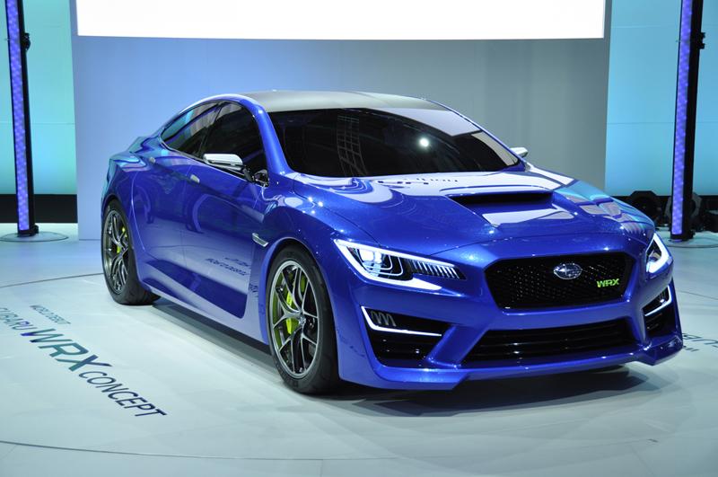 Foto Perfil Subaru Wrx Cupe 2013