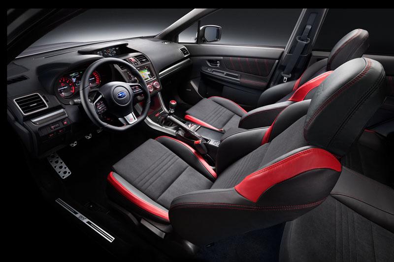 Foto Interiores (1) Subaru Wrx-sti Sedan 2014