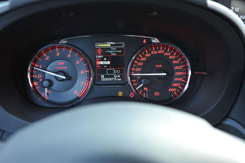 Foto Interiores Subaru Wrx-sti Sedan 2014