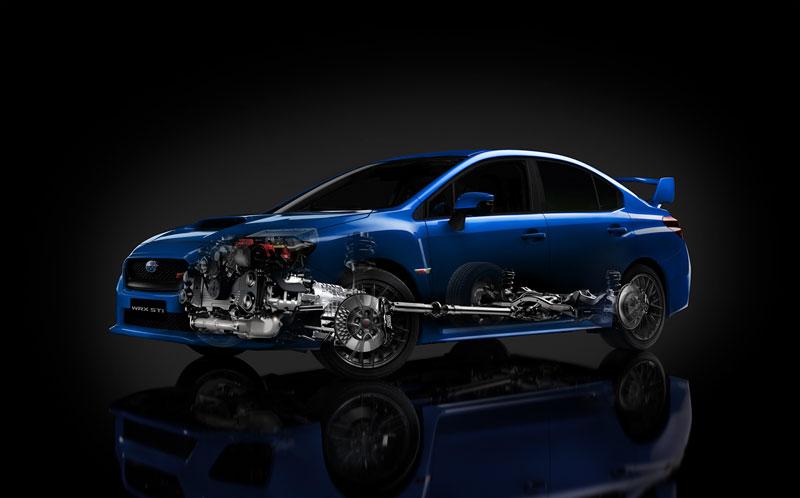Foto Tecnicas (2) Subaru Wrx-sti Sedan 2014