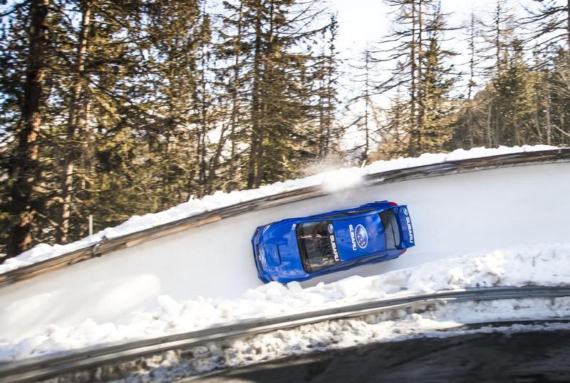 Subaru Impreza WRX STI bobsleight
