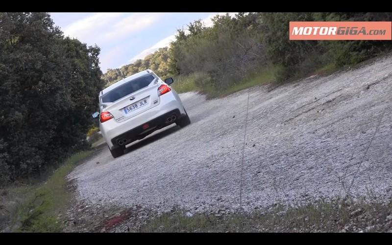 Foto Exteriores Subaru Wrx Sti Prueba Sedan 2016