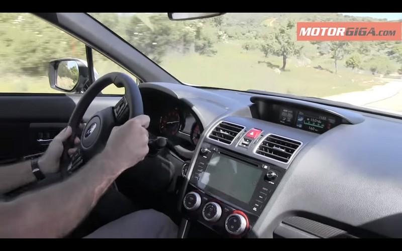 Foto Salpicadero Subaru Wrx Sti Prueba Sedan 2016