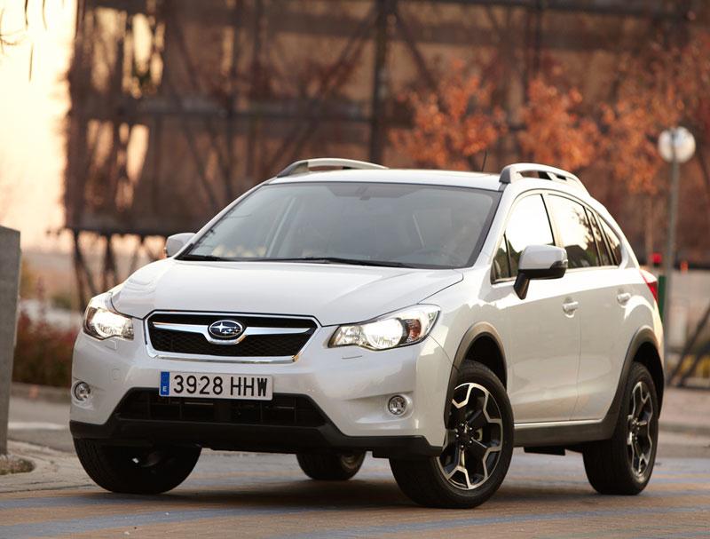 Foto Delantera Subaru Xv Suv Todocamino 2012