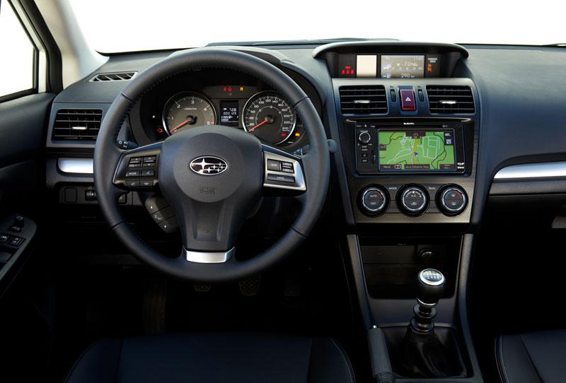 Foto Interiores Subaru Xv Suv Todocamino 2012