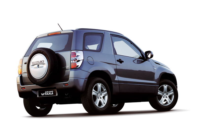 foto trasero suzuki grand vitara suv todocamino 2008. Black Bedroom Furniture Sets. Home Design Ideas