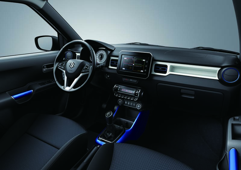 Foto Interiores Suzuki Ignis Suv Todocamino 2020