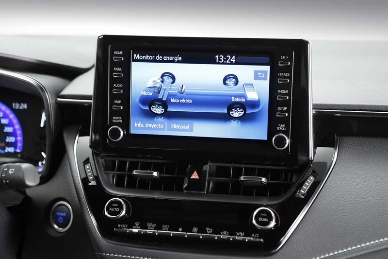 Suzuki Swace, foto pantalla del salpicadero