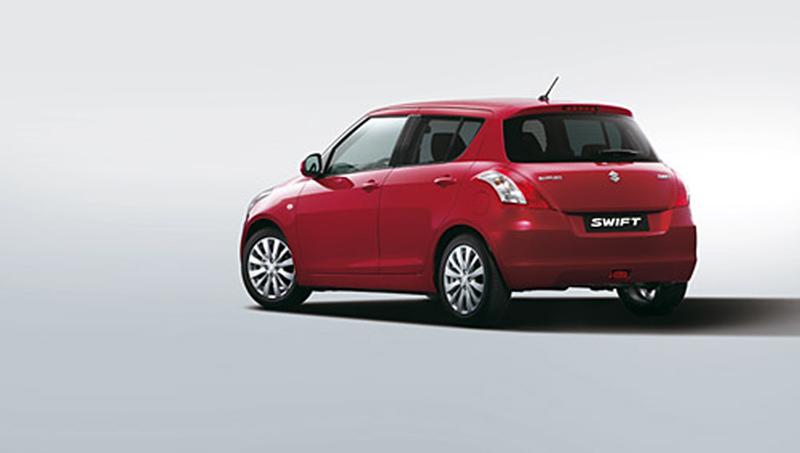 Foto Trasera Suzuki Swift Dos Volumenes 2010