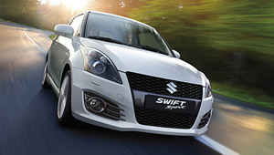 Foto Frontal Suzuki Swift-sport Dos Volumenes 2011
