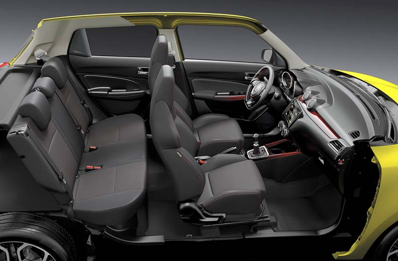 Suzuki Swift Sport Hybrid, foto interior