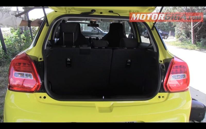 Foto Interiores Suzuki Swift Sport Prueba Dos Volumenes 2018