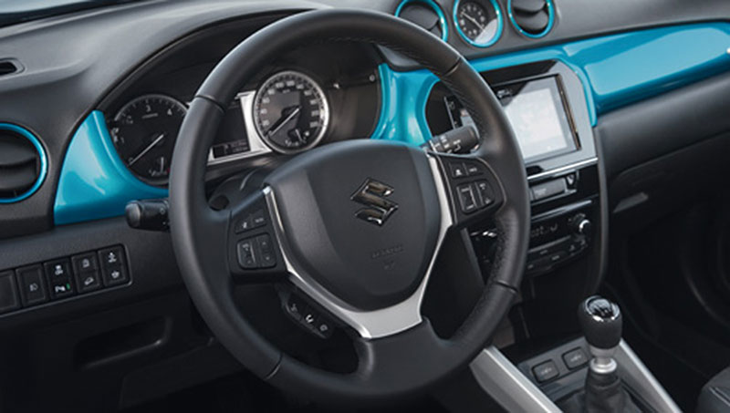 Foto Interiores Suzuki Vitara Suv Todocamino 2015