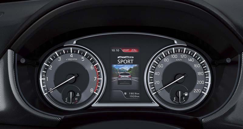 Suzuki Vitara 2018, foto cuadro de mandos