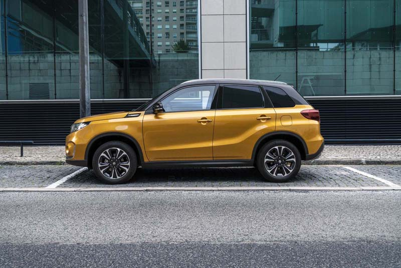 Suzuki Vitara 2018, foto lateral