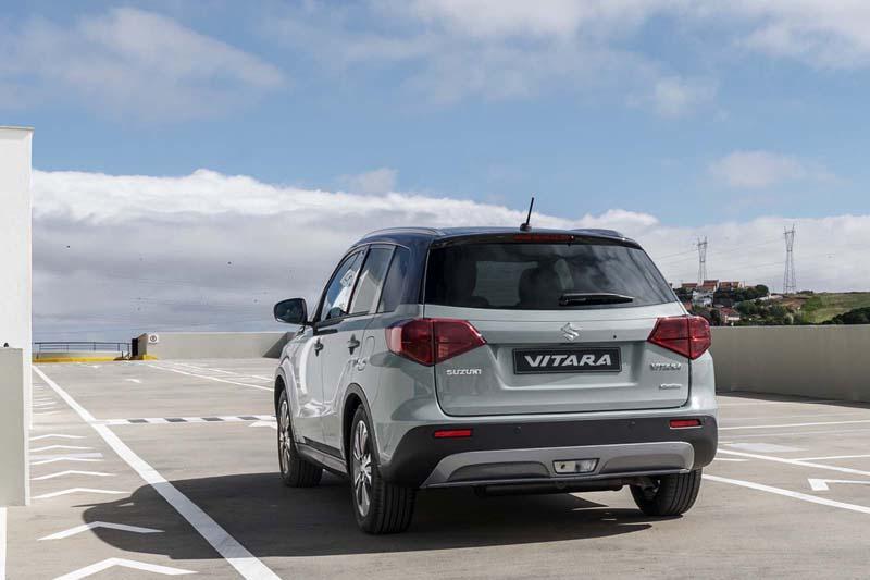 Suzuki Vitara 2018, foto trasera