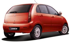 Foto Trasera Tata Indica Dos Volumenes 2012