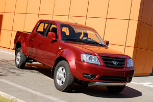 Foto Delantera Tata Xenon Pick Up 2012