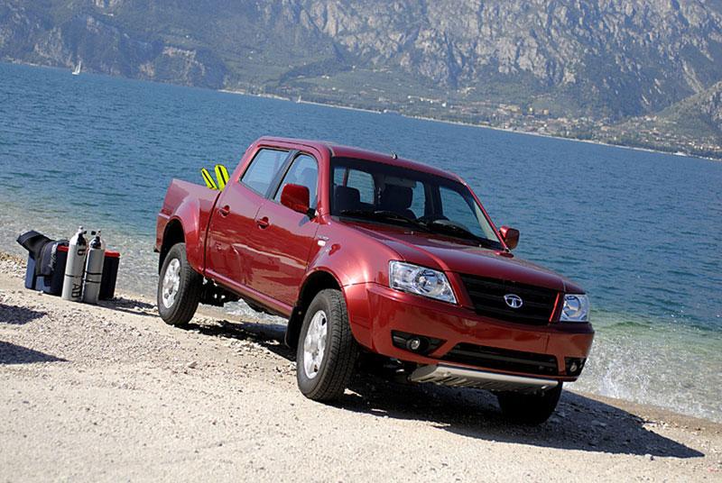 Foto Exteriores Tata Xenon Pick Up 2012