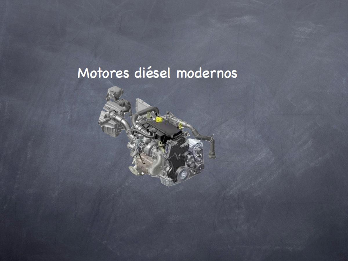 Motores diésel modernos
