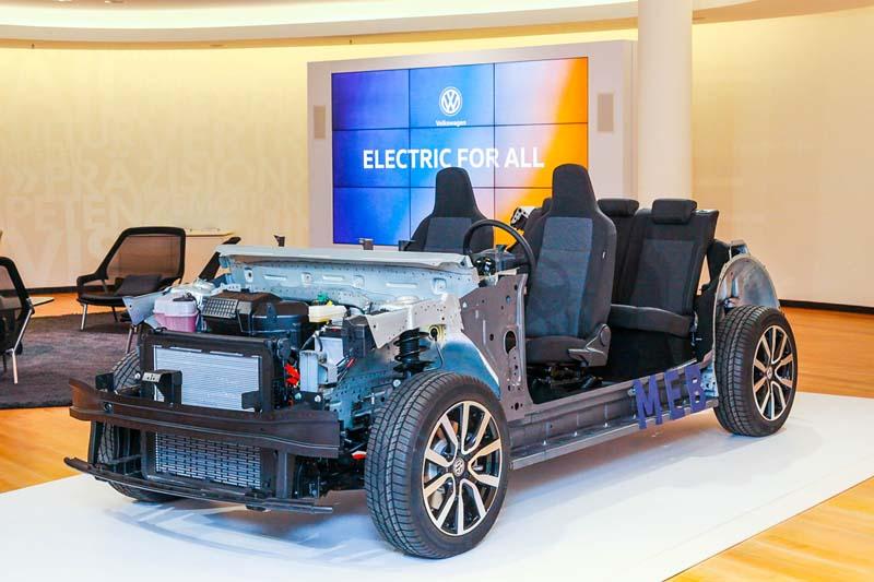 Plataforma modular MEB de Volkswagen