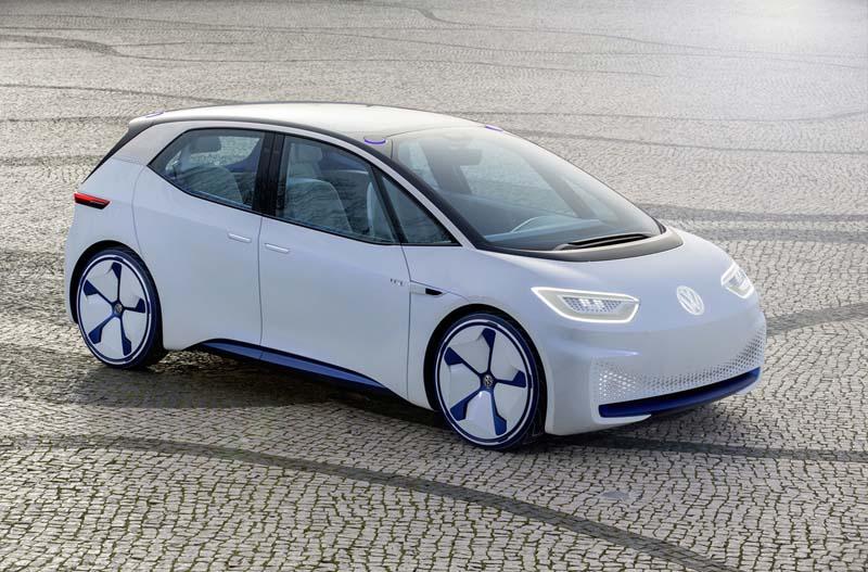 Plataforma MEB de Volkswagen, foto prototipo ID