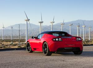 Foto Trasera Tesla 2.5 Descapotable 2010