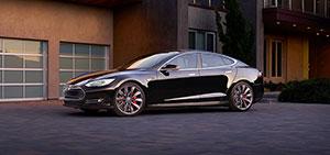 Foto Delantera Tesla S Sedan 2015