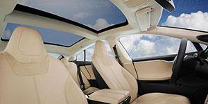 Foto Interiores Tesla S Sedan 2015