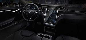 Foto Salpicadero Tesla S Sedan 2015