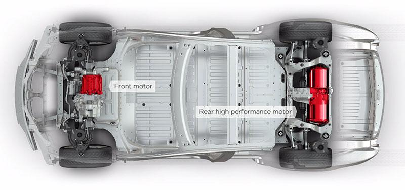 Foto Tecnicas Tesla S Sedan 2015