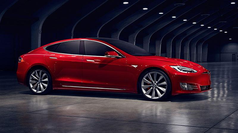 Foto Tesla Model S 02 2 Tesla Model-s Sedan 2017