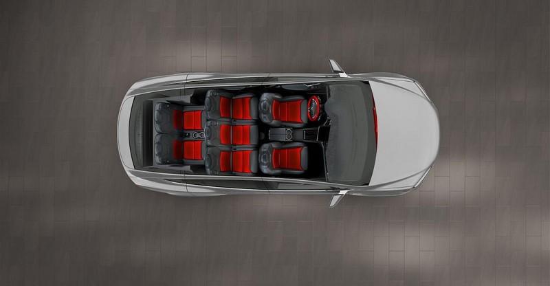 Foto Interiores Tesla Model X Suv Todocamino 2015