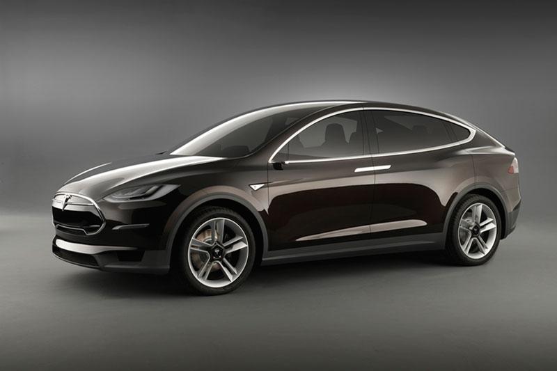 Foto Delantera Tesla Model X Suv Todocamino 2012