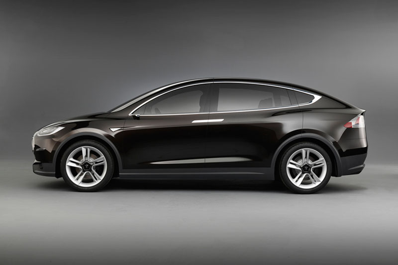 Foto Perfil Tesla Model X Suv Todocamino 2012