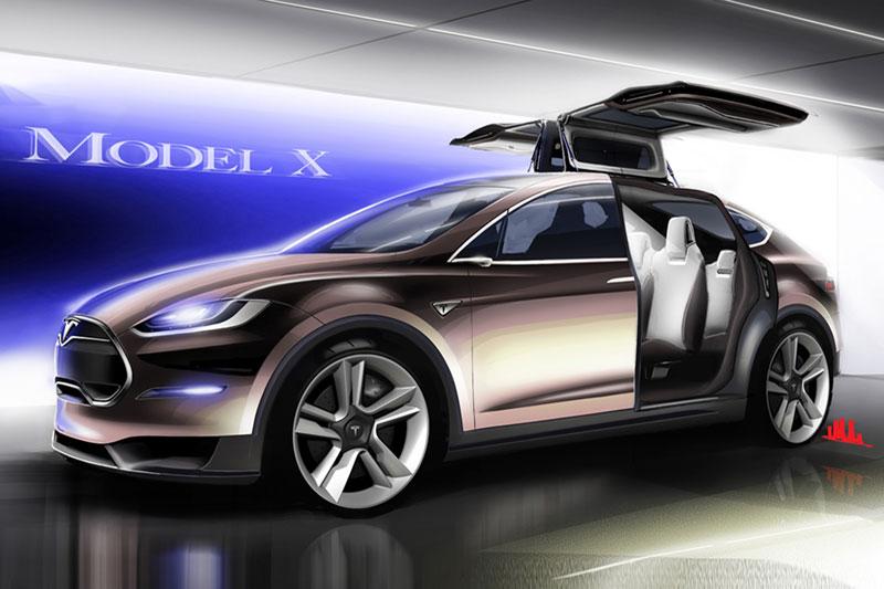 Foto Tecnicas Tesla Model X Suv Todocamino 2012