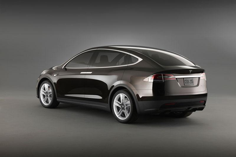 Foto Trasera Tesla Model-x Suv Todocamino 2012