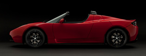 Foto Perfil Tesla Roadster Descapotable 2010