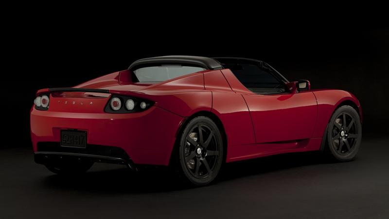 Foto Trasero Tesla Roadster Descapotable 2010