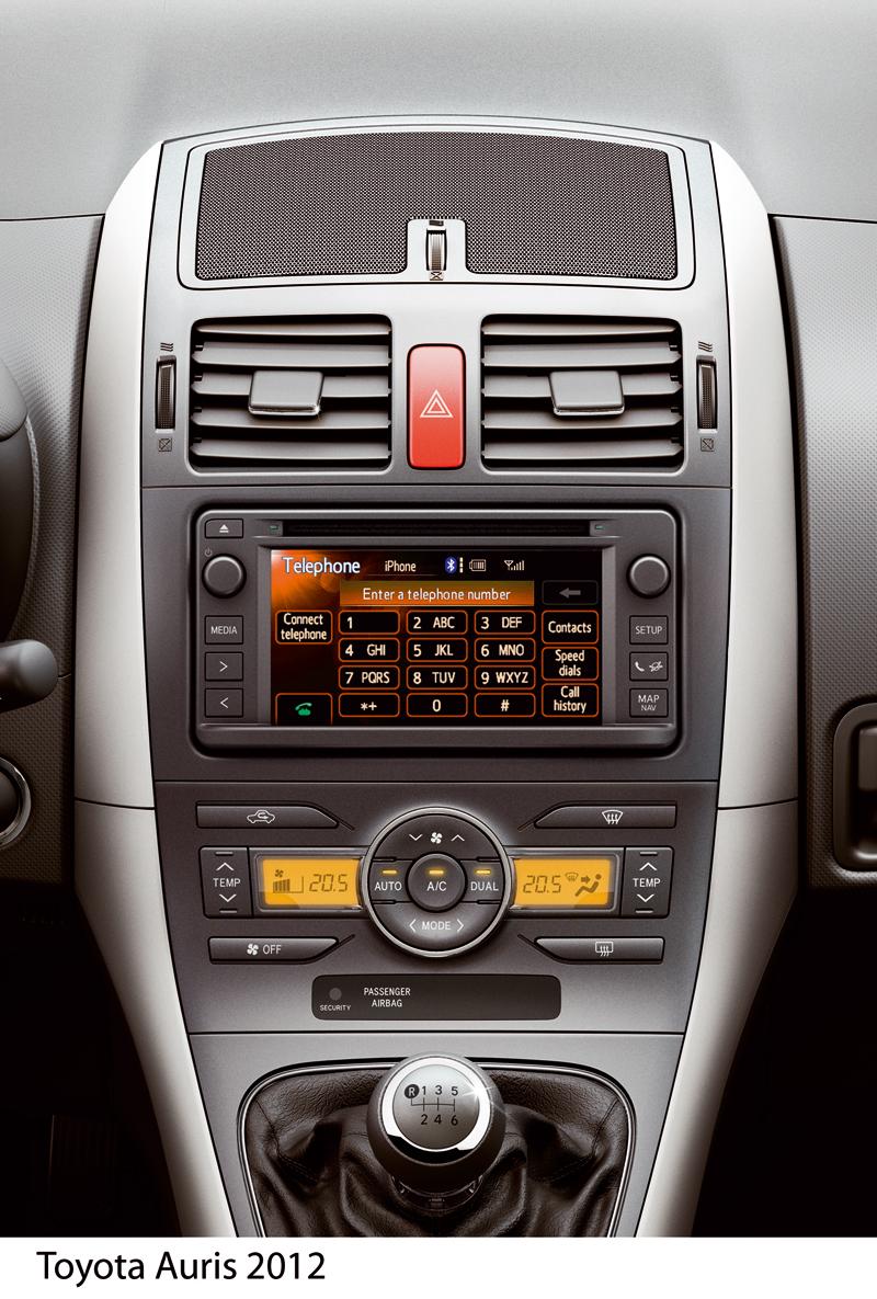 Foto Interiores Toyota Auris Dos Volumenes 2012