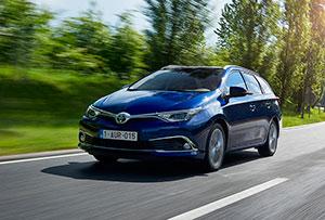 Foto Exteriores (1) Toyota Auris Familiar 2015