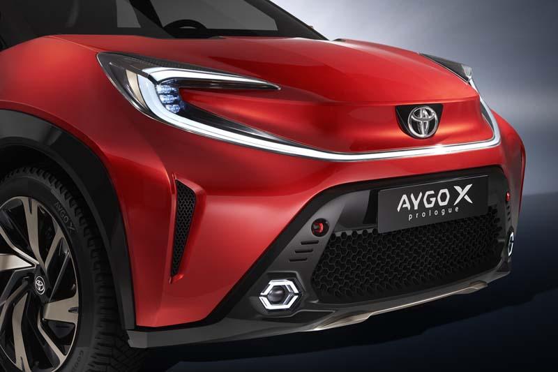 Foto Detalles Toyota Aygo X Dos Volumenes 2021
