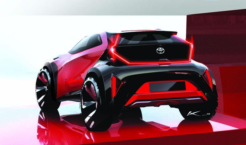 Foto Trasera Toyota Aygo X Dos Volumenes 2021