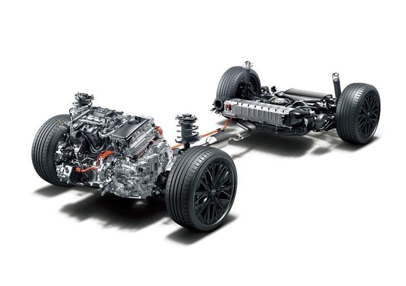Toyota C-HR 2020, foto plataforma híbrida