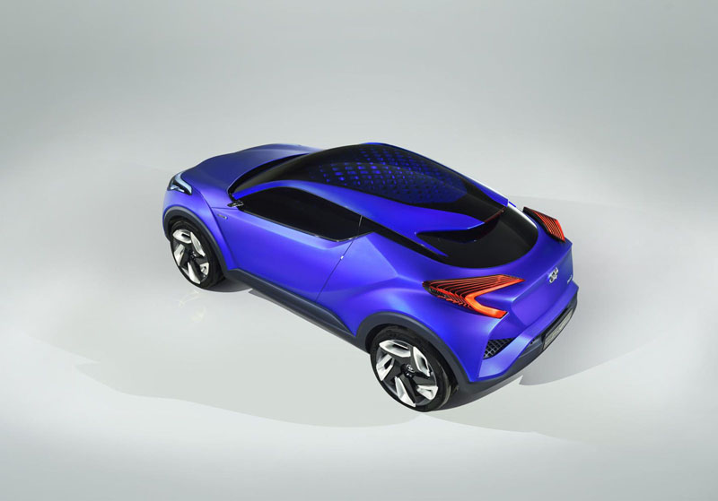 Foto Exterior Toyota Ch-r Concept 2014