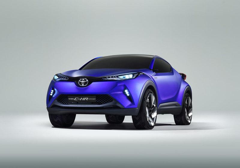 Foto Perfil Toyota Ch-r Concept 2014